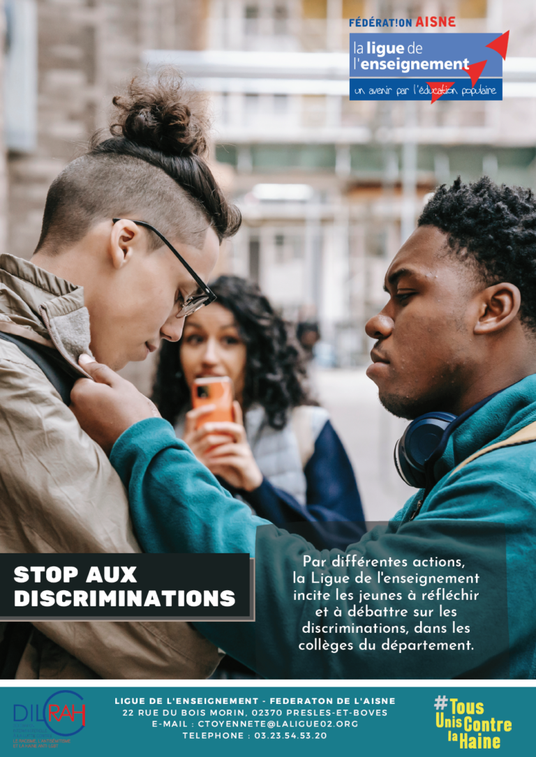 stop aux discriminations